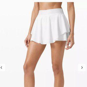 NWT Lululemon Court Rival HIGH RISE REGULAR LENGTH TENNIS golf Skirt Size 6
